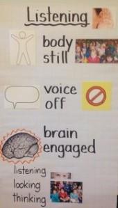 listening poster